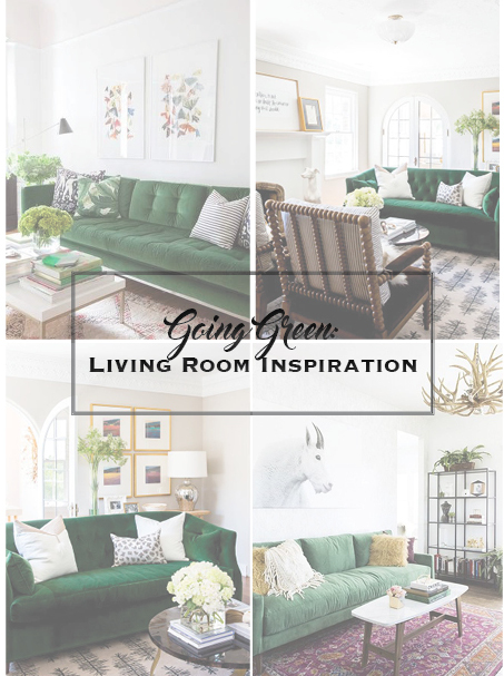 Going Green- Living Room Inspo graphic